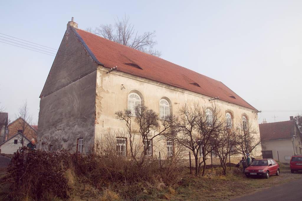Synagoga ve Čkyni před rekonstrukcí