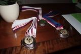 Předávání medailí přípravka