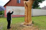 Svěcení sochy Marie Předenické