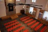 Oprava synagogy ve Čkyni - interiéry