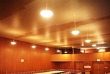 Osvětlení sálu KD