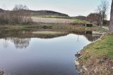 Oprava hráze a vyčištění rybníka ve Čkyni